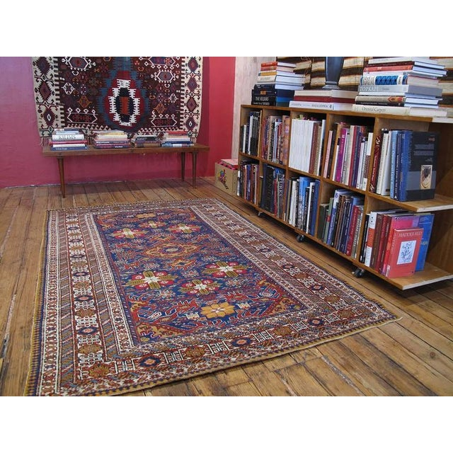 A beautiful old rug from the Eastern Caucasus (Azerbaijan), in a style attributed to the Shirvan region or possibly...