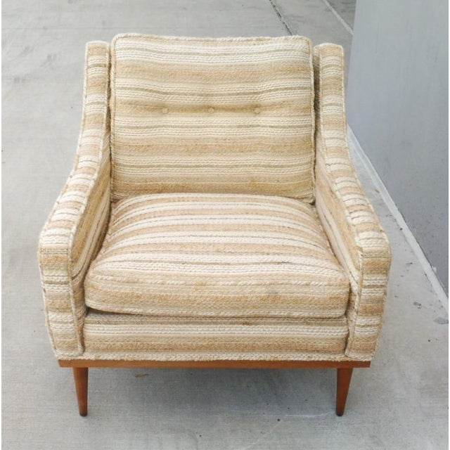 Yellow 1960s Mid-Century Modern Milo Baughman for James Inc Articulate Lounge Chairs - a Pair For Sale - Image 8 of 11
