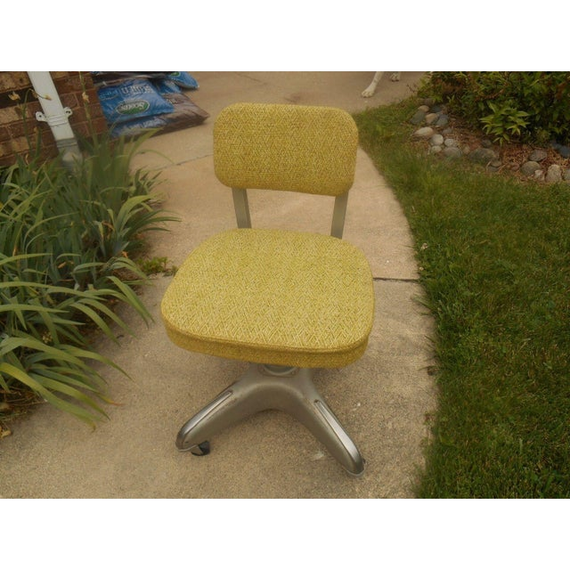 Industrial Steel & Aluminum Cole Office Chair - Image 3 of 5