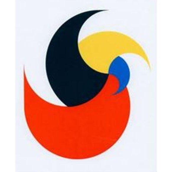 Anton Stankowski Classic Abstract Serigraph, Limited Edition, 1997 Classic abstract serigraph by important German artist...