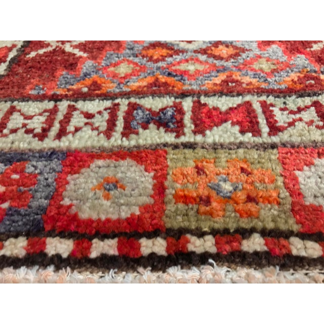 "Bellwether Rugs Vintage Turkish Oushak Runner - 2'9"" X 11'4"" - Image 10 of 11"