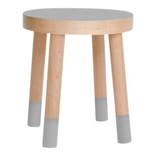 Poco Kids Chair in Maple With Gray Finish For Sale