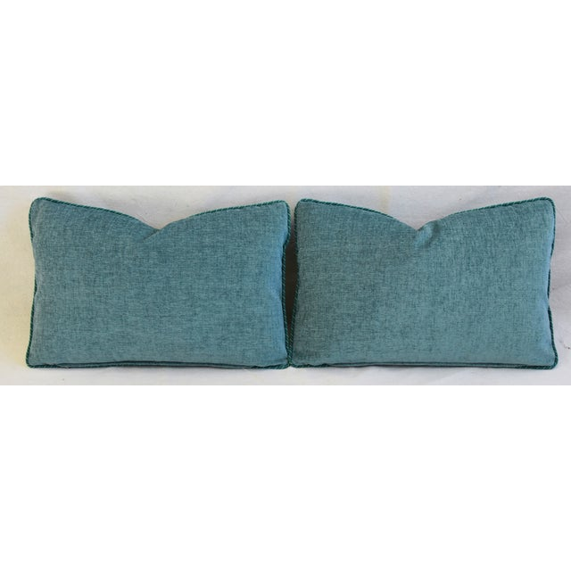 Italian Mariano Fortuny Feather/Down Accent Pillows - Pair For Sale - Image 10 of 13