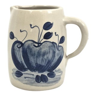 Hand Trown Pottery Pitcher For Sale