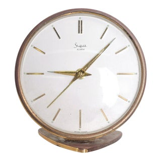 Sheffield, West Germany Mid-Century Modern Table Clock For Sale