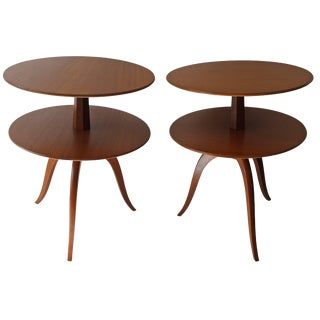 Pair of Side Tables by Paul Frankl for Brown Saltman For Sale