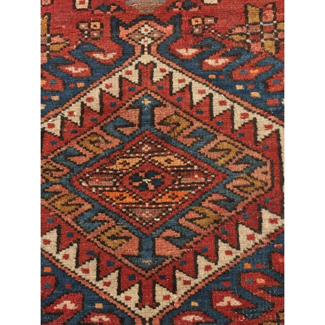 "Vintage Persian Karajeh Runner - 3'1"" x 11'6"" - Image 5 of 10"
