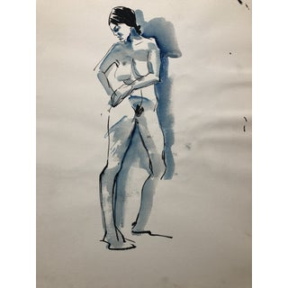 Standing Female Nude 1960s For Sale