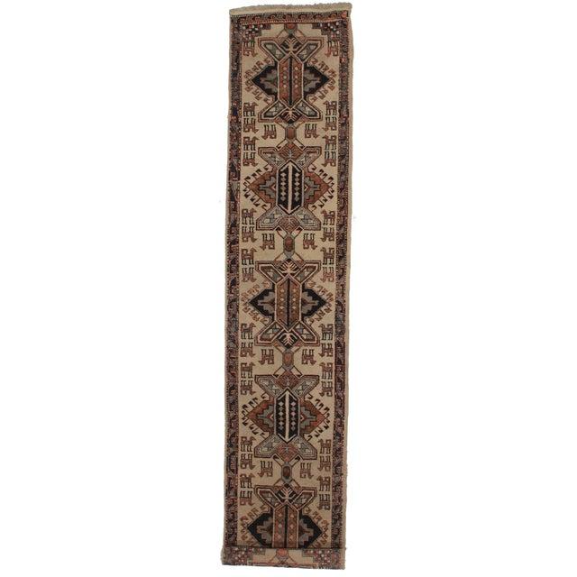 Vintage Persian Hamedan Runner - 2′6″ × 11′10″ For Sale