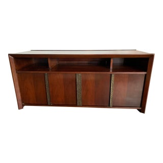 Late 20th Century Baker Modernist Sideboard For Sale