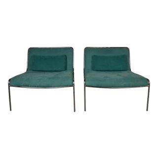 Pair of Lounge Chairs For Sale