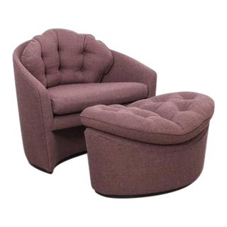 Adrian Pearsall Lounge Chair and Ottoman For Sale