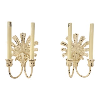 Modern Visual Comfort Marlborough Double Sconce- A Pair For Sale