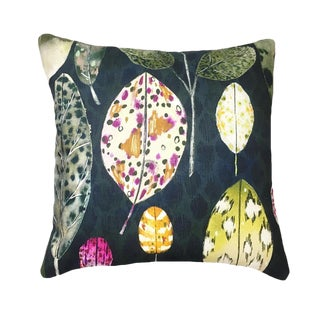Custom Designers Guild Pillow Tulsi Aubergine For Sale