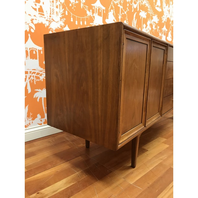1960's Mid-Century Modern Drexel Declaration Credenza Buffet For Sale - Image 6 of 13