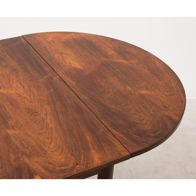 1950s Niels Moller Extending Dining Table in Rosewood, Denmark 1950s For Sale - Image 5 of 12