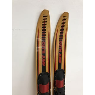 Vintage Wood Water Skis - Cut N' Jump - a Pair Preview