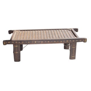 Antique Mediterranean Cart Coffee Table For Sale