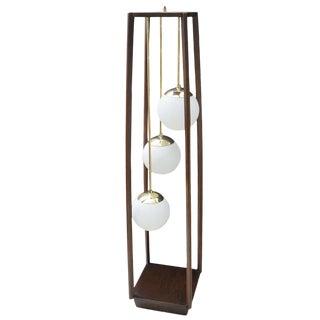 Italian Modern Three-Light Standing Lamp For Sale