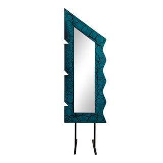 1980s Postmodern David Marshall Sculptors Guild Mirror For Sale