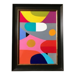 """""""Prescription"""" Original Abstract Expressionist Painting"""