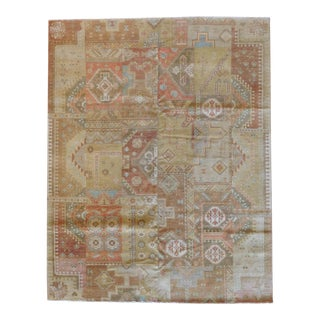 Indo Handmade Patchwork Rug - 8' x 10' For Sale