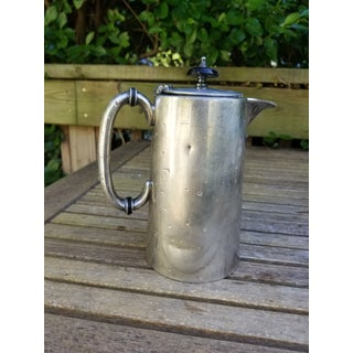 Antique Jb & Co. Sheffield Silver Plate Pitcher Preview