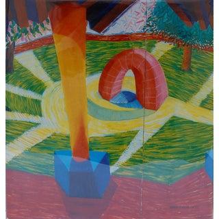 David Hockney, a Retrospective - 1st Edition 1988 Hardcover Art Book Preview