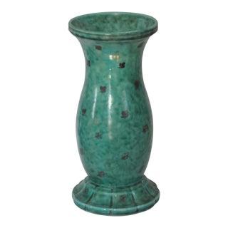 Argenta Vase Signed by Wilhelm Kage for Gustavsberg, Sweden