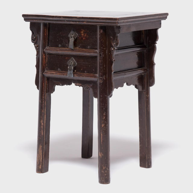 19th Century Chinese Shanxi Tall Petite Cabinets - a Pair For Sale - Image 11 of 13