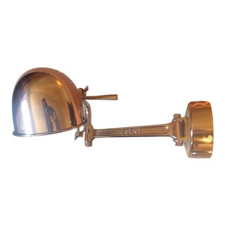 Ralph Lauren Polished Nickel Swing Arm Wall Lamp