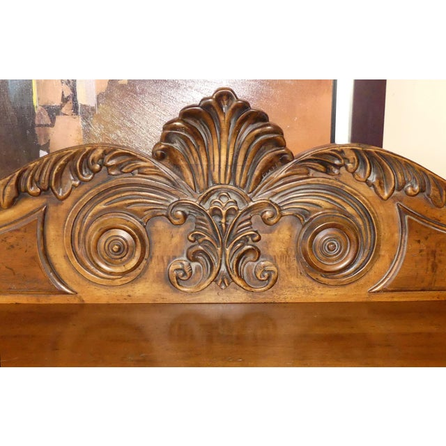 Wood Ralph Lauren British Colonial Sideboard or Server For Sale - Image 7 of 12