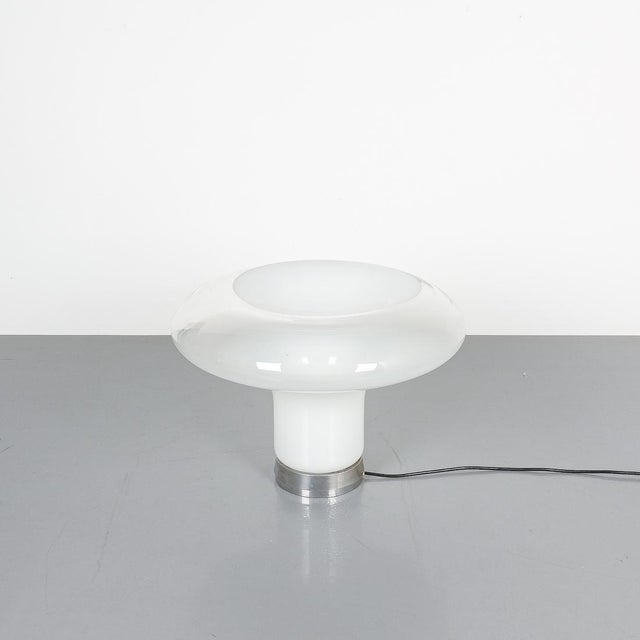 1960s Angelo Mangiarotti Lesbo Table Lamp Artemide, Italy, 1967 For Sale - Image 5 of 7