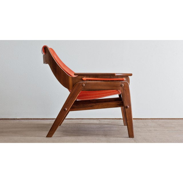 Jerry Johnson Mid Century Modern Jerry Johnson Triumph I Sling Chair For Sale - Image 4 of 9