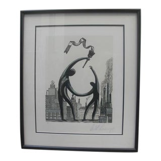 """""""Inner City Games"""" Lithograph by Arnold Schwarzenegger For Sale"""