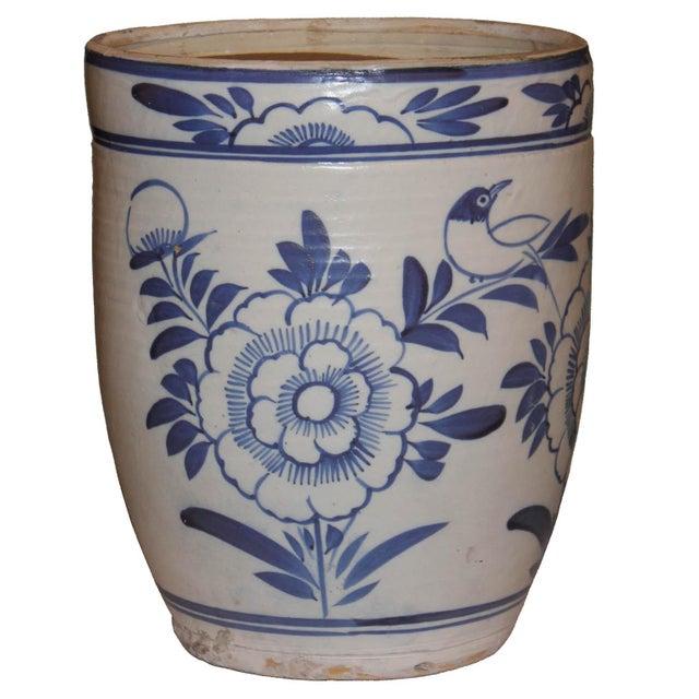 Blue & White Grain Pot - Image 3 of 5