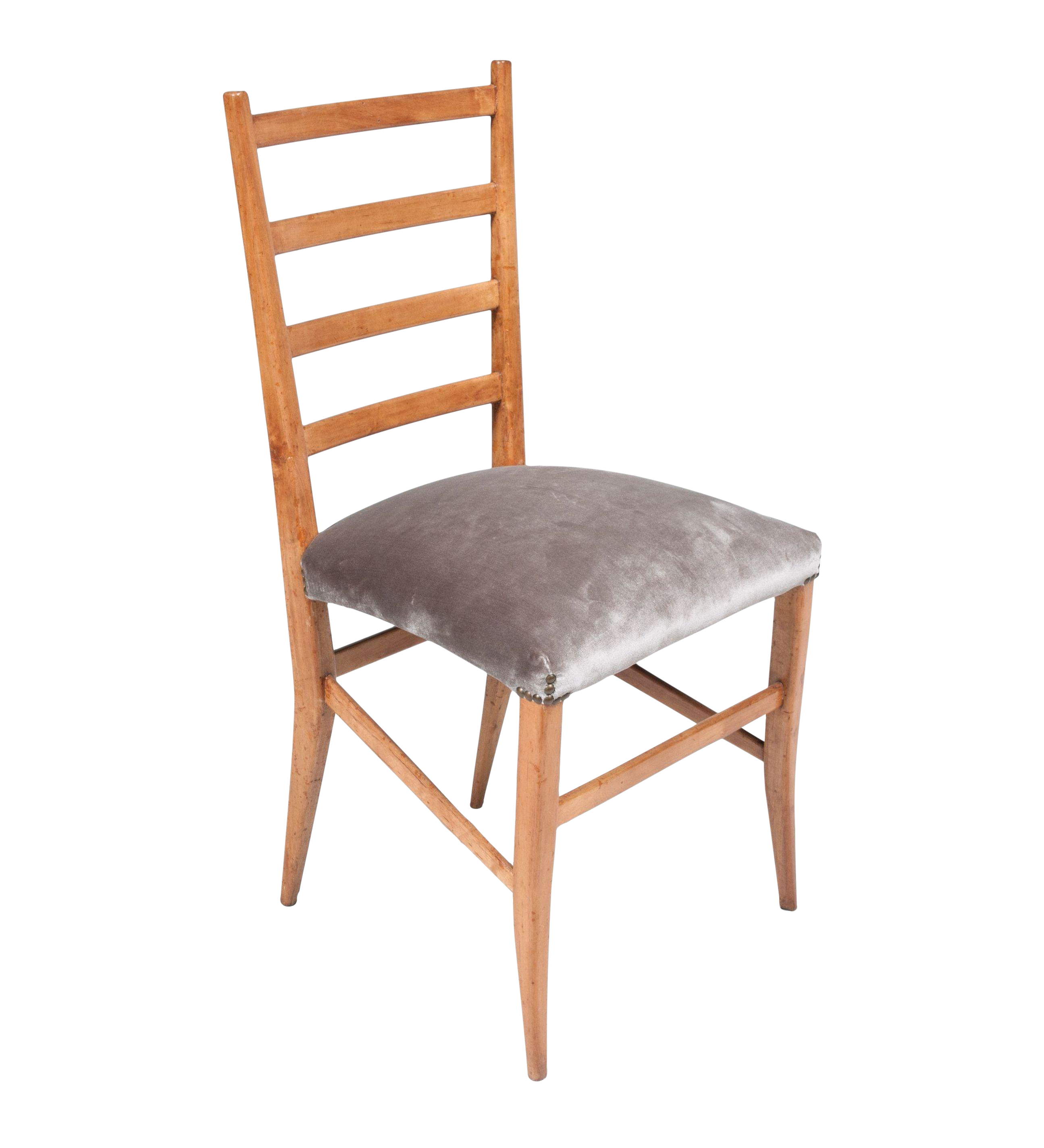 French Ladder Back Chairs   Set Of 4