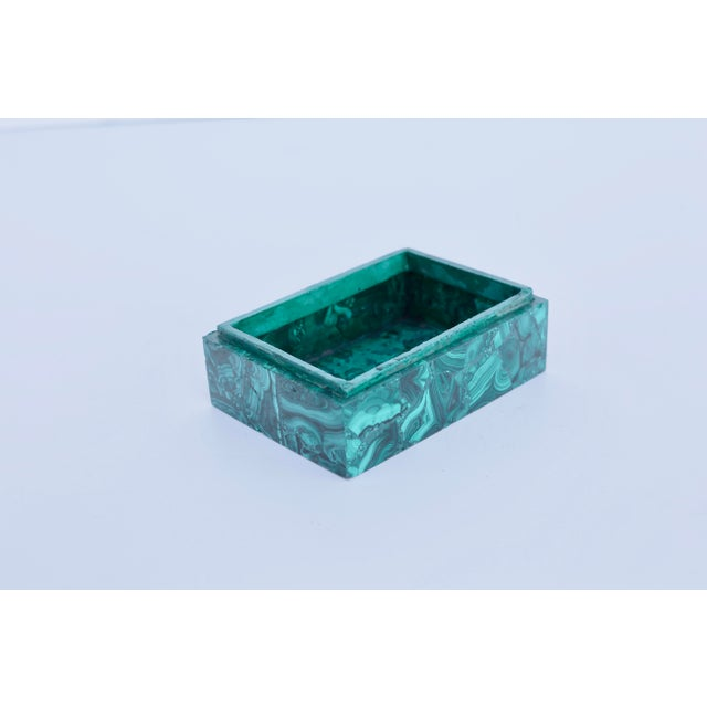 Malachite Box For Sale - Image 4 of 6