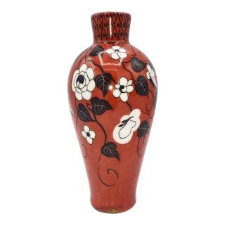"""1925 Art Nouveau French Ceramique """"Oissel - Lhr"""" For Sale"""