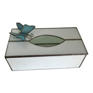 Vintage Butterfly Tissue Box