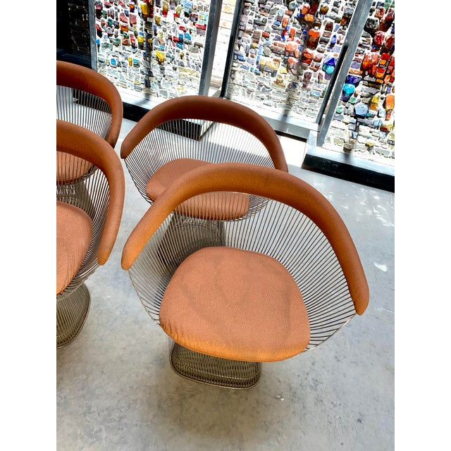 1960s Original Platner Arm Chairs for Knoll International - Set of Four For Sale - Image 10 of 12