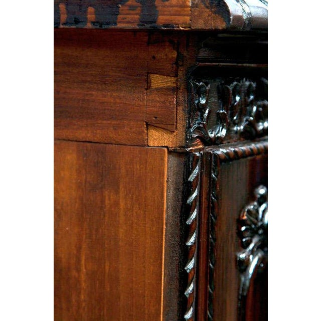 Gerogian Style Demi Lune Commode - Image 9 of 10