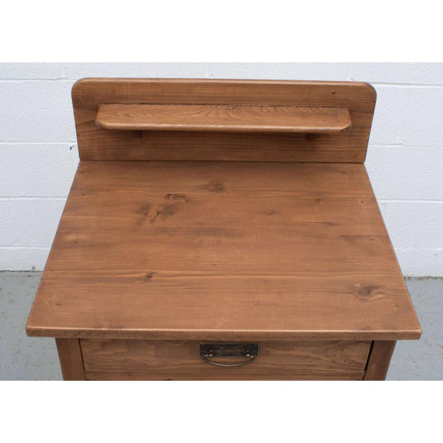 Country Late 19th Century Pine Cupboard / Washstand For Sale - Image 3 of 7