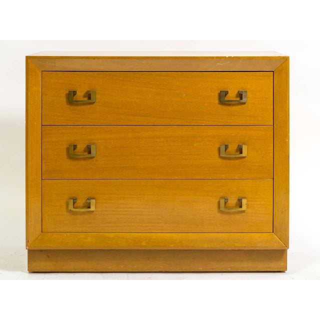 Wood Pair of 1950s John Stuart Bachelor Chests For Sale - Image 7 of 9