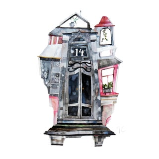 ''New York No.14'' Original Artwork by Maria C Bernhardsson For Sale