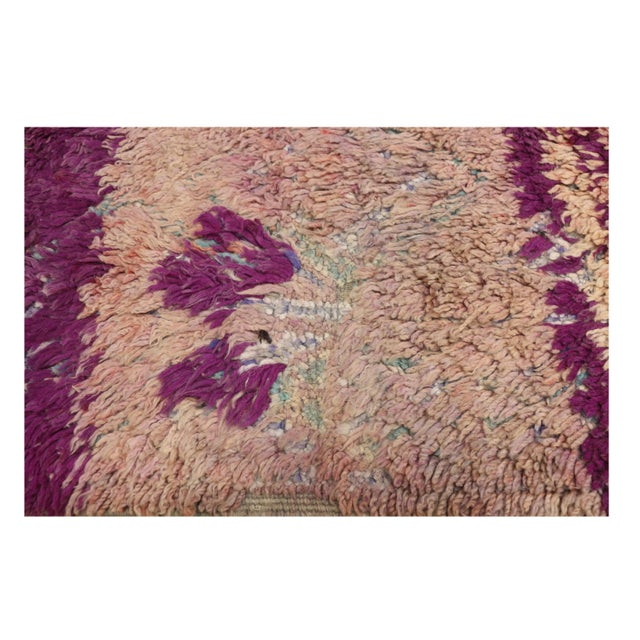 Vintage Berber Moroccan Rug With Postmodern Memphis Style - 05'10 X 10'02 For Sale - Image 10 of 12