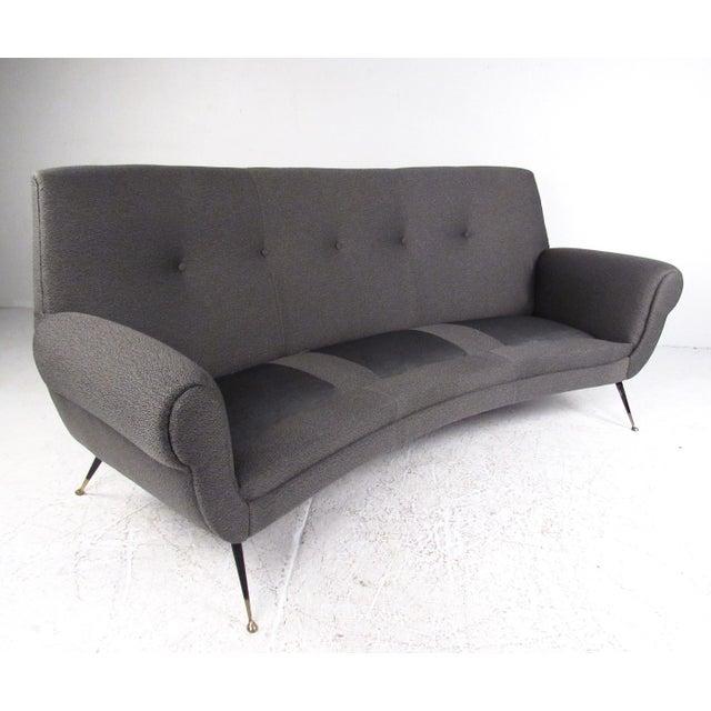 1950s Sculptural Modern Sofa by Gigi Radice For Sale - Image 5 of 11