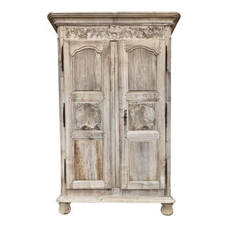 18th. C. French Lyonnaise Armoire For Sale