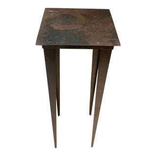 Industrial Ingo Maurer Atelier Tall Pedestal Table For Sale