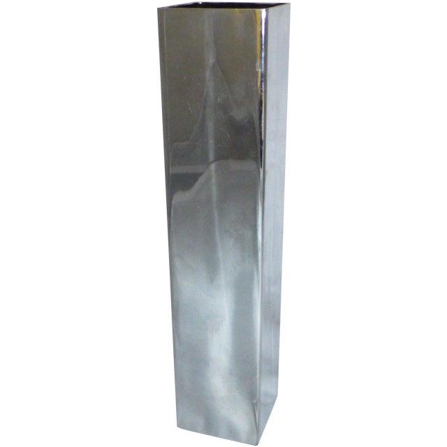 Mid-Century Chrome Bud Vase - Image 1 of 6